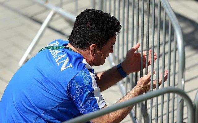 (تصاویر) گریههای محمد بنا