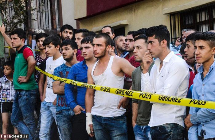 (تصاویر) عروسی خونین در ترکیه