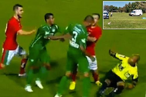 (تصاویر) فوتبالیست مکزیکی داور را کُشت