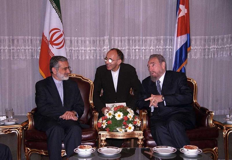 (تصاویر) سفر فیدل کاسترو به ایران