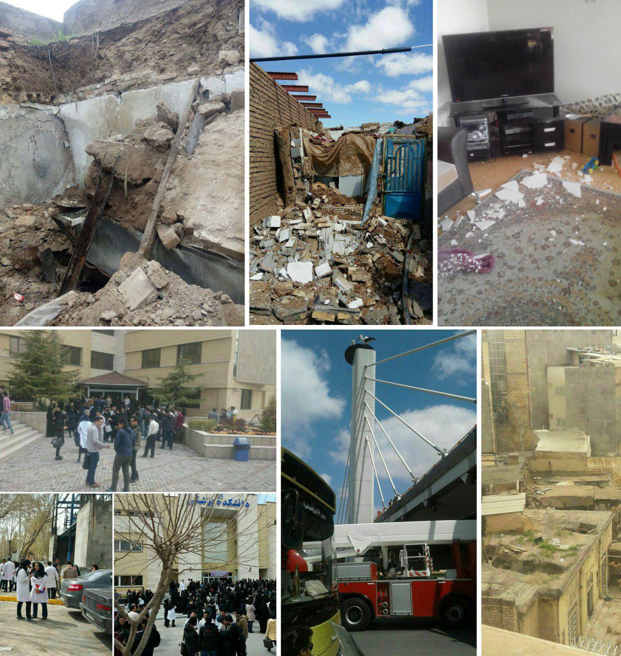 زلزله 6 ریشتری خراسان را لرزاند