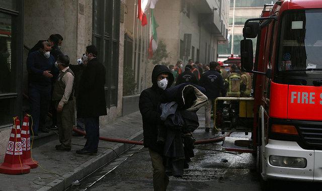 احتمال ریزش ساختمان وزارت نیرو