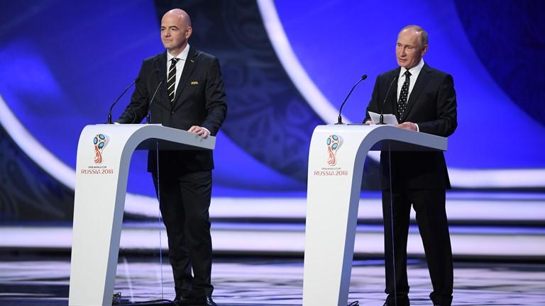 ایران، اسپانیا، پرتغال و مراکش در گروه مرگ/ عربستان حریف روسیه در افتتاحیه