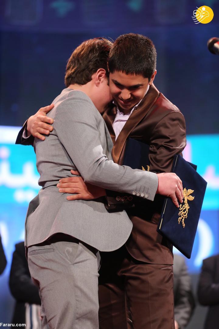 (تصاویر) جذابترین لحظه اختتامیه جشنواره فیلم فجر