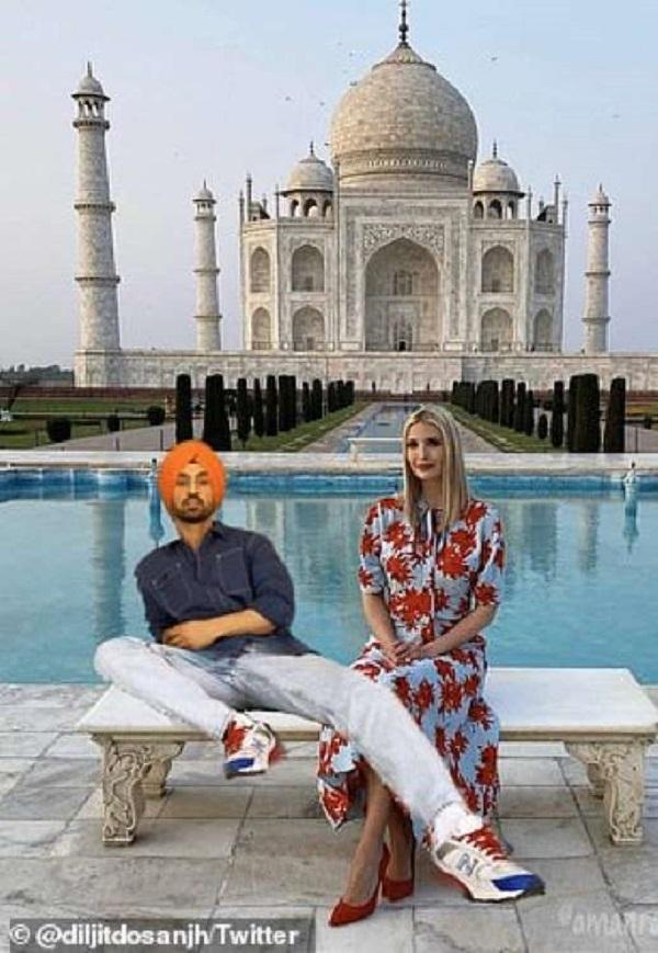 (تصاویر) «دوستان جدید» ایوانیکا ترامپ در هند!