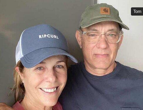 اولین تصویر از تام هنکس و همسرش در قرنطینه