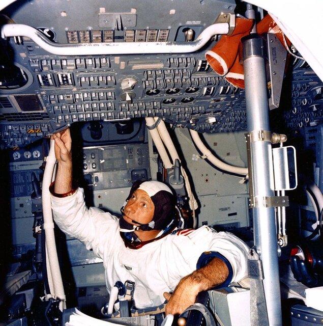 (تصاویر) درگذشت فضانوردی که