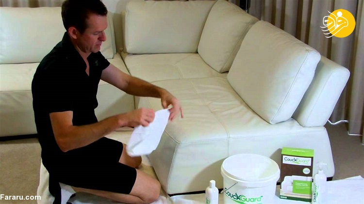 نحوه تمیز کردن مبل چرمی در خانه