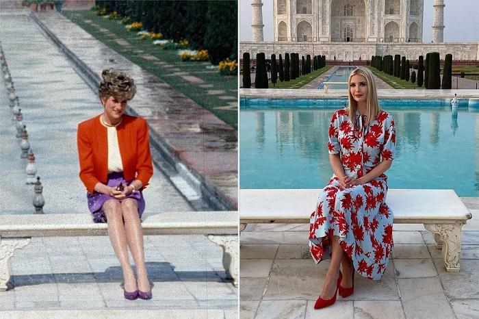 (عکس) ایوانیکا ترامپ و پرنسس دایانا؛ داستان یک عکس مشترک!