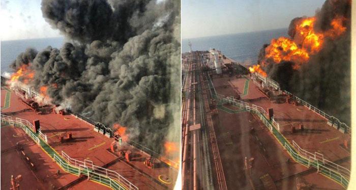 جزئیات و واکنش های حمله به دو نفت کش