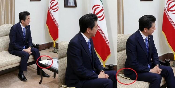 رمزگشایی از دو تصویر دیدار آبه با رهبر انقلاب؛ پیامی که به مقصد نرسید؟