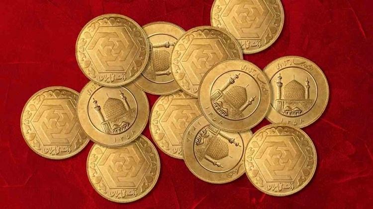 قیمت انواع سکه و طلا ۱۸ عیار در روز دوشنبه ۲۵ اسفند