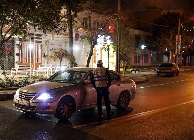 پلیس: محدودیتهای تردد شبانه ادامه مییابد