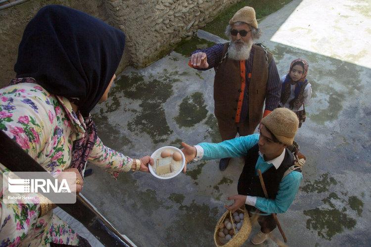 (تصاویر) نوروزخوانی در روستای سرکلاته کردکوی