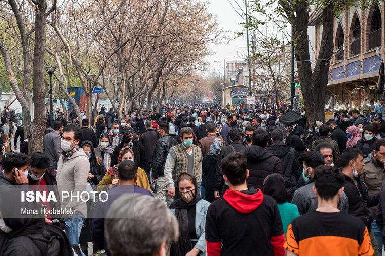 (تصاویر) بازار بزرگ تهران در روزهای پایانی سال ۹۹