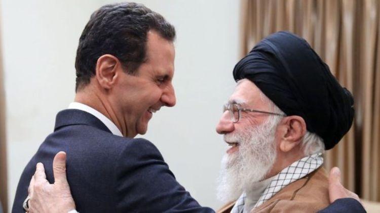 (ویدئو) ابلاغ پیام احوال پرسی رهبر انقلاب از بشار اسد