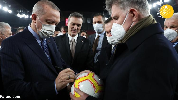 (ویدئو) پنالتی زدن اردوغان