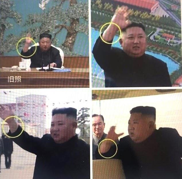 (تصاویر) گمانهزنی درباره اینکه کیم جونگ اون بدل دارد!