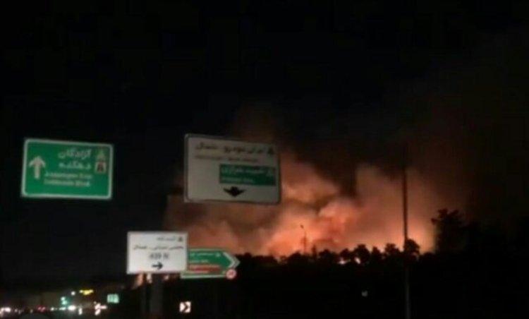 جزییات آتشسوزی در پارک چیتگر