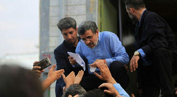 صدای پای احمدینژاد!