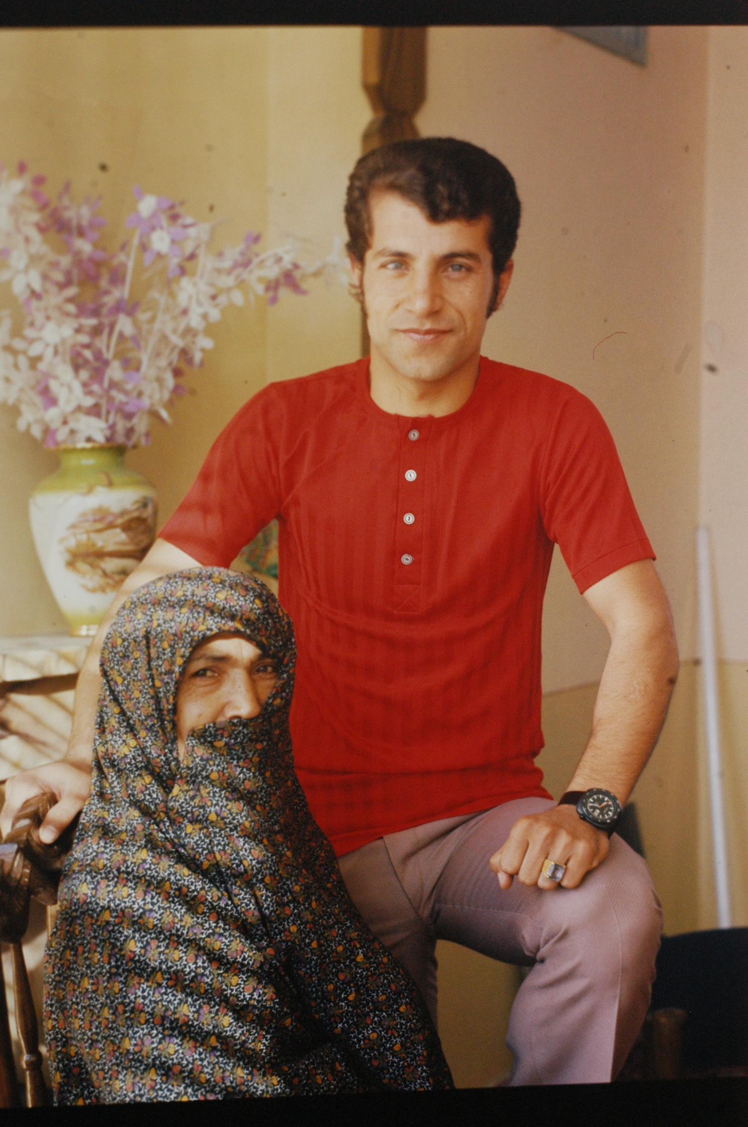 (عکس) زیباترین تصویر زندگی علی پروین