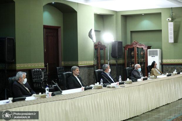 (تصاویر) جلسه شورای عالی امنیت ملی با ترکیب جدید