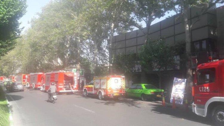 آتشسوزی در سینما بلوار تهران