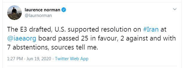 تصویب اولین قطعنامه ضد ایرانی در شورای حکام بعد از ۸ سال