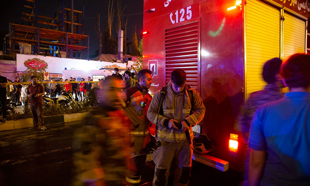 جزئیات انفجار و آتشسوزی در مرکز درمانی سینا اطهر در خیابان شریعتی تهران