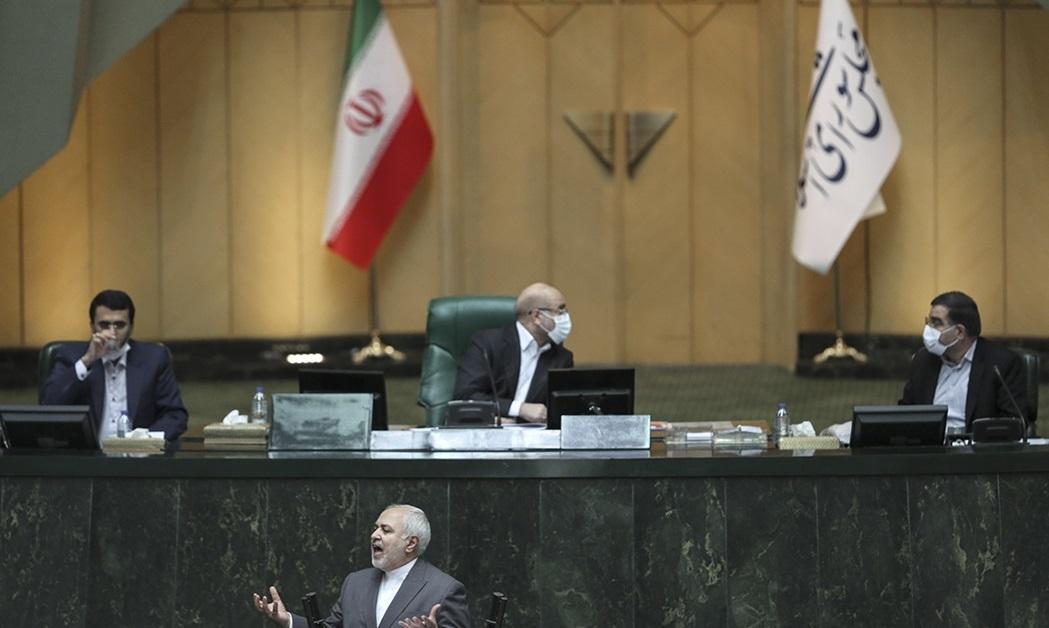 حملات تند و تیز به ظریف در صحن علنی مجلس