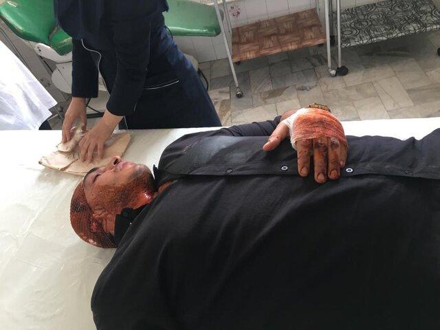 (عکس) حمله اراذل و اوباش به قهرمان بوکس ایران!