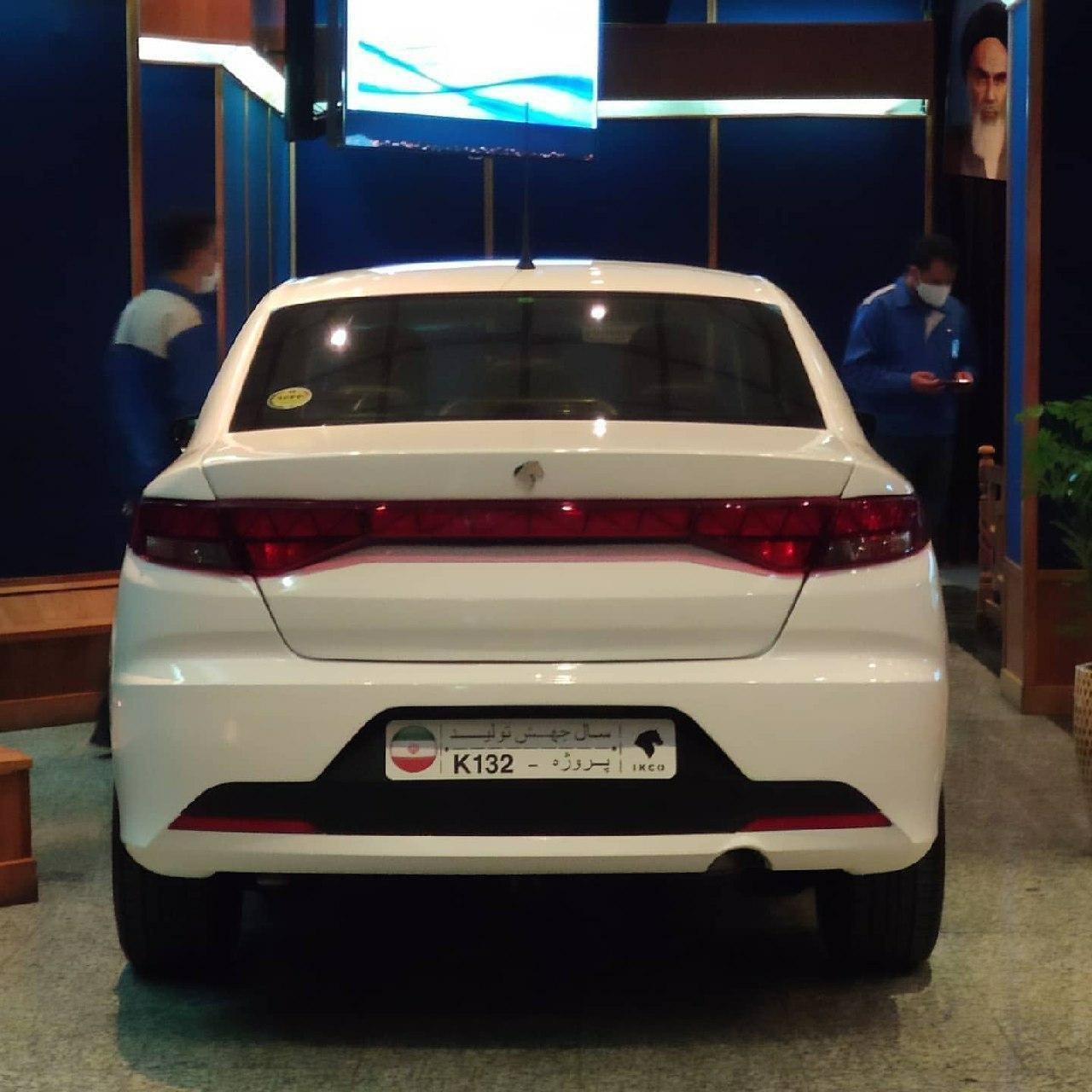 ماشین جدید ایران خودرو K ۱۳۲ چه ویژگیهایی دارد؟