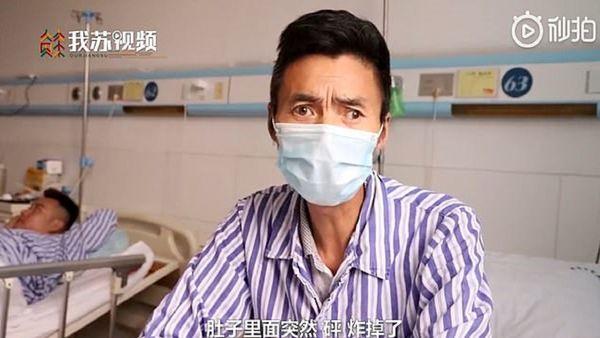 ترکیدن مرد چینی پس از صرف یک کاسه سوپ!