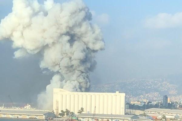 (ویدئو و تصاویر) وقوع انفجار مهیب در بیروت لبنان با دهها کشته و صدها زخمی