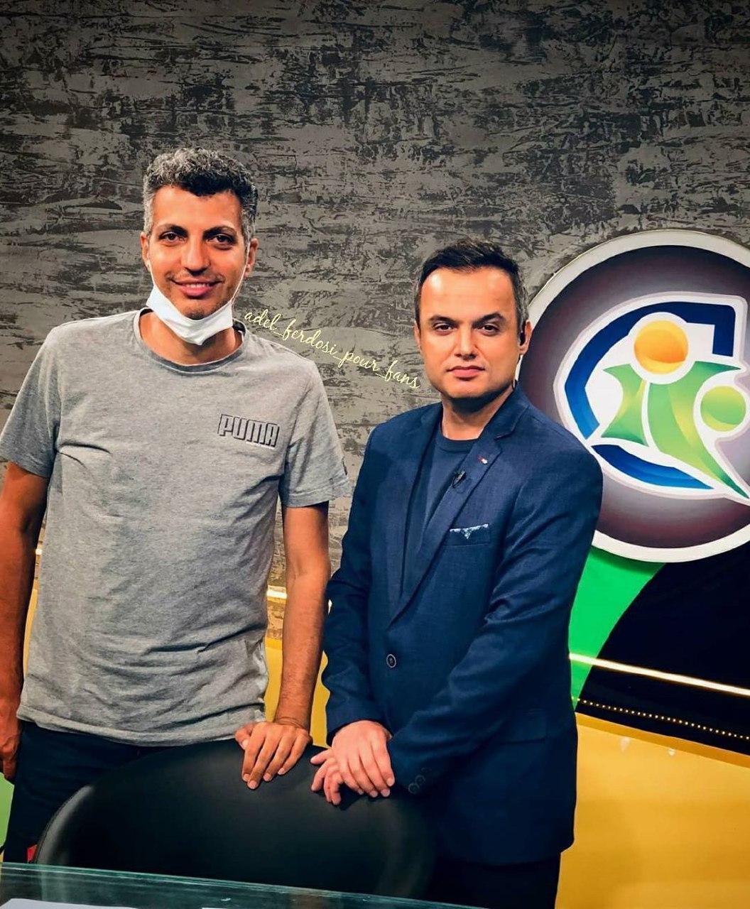 فرارو | (عکس) جدیدترین عکس از عادل فردوسیپور در شبکه ورزش
