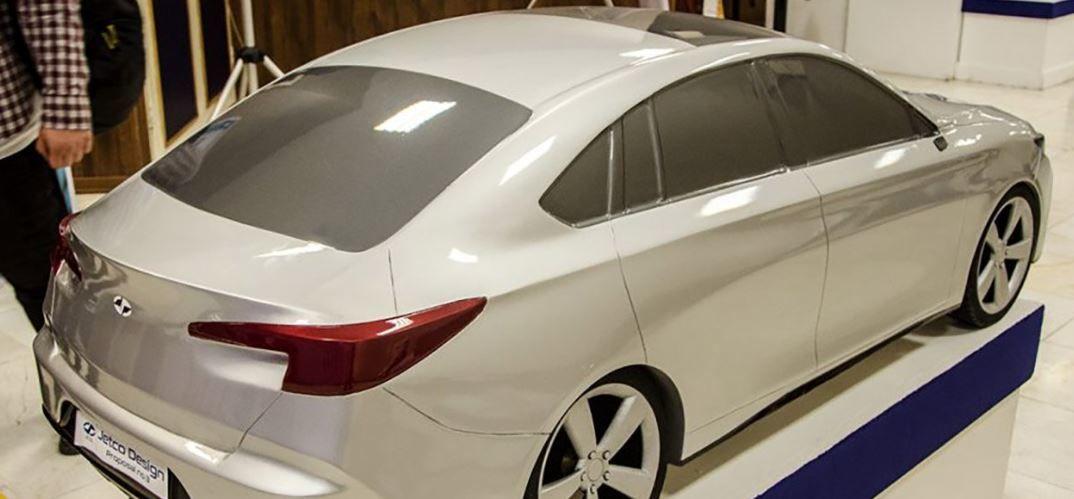 (عکس) نسل جدید خودروی سمند در بازار ایران