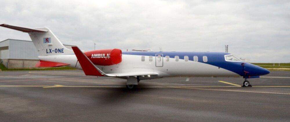(عکس) آمبولانس هوایی که رونالدو را به ایتالیا منتقل کرد