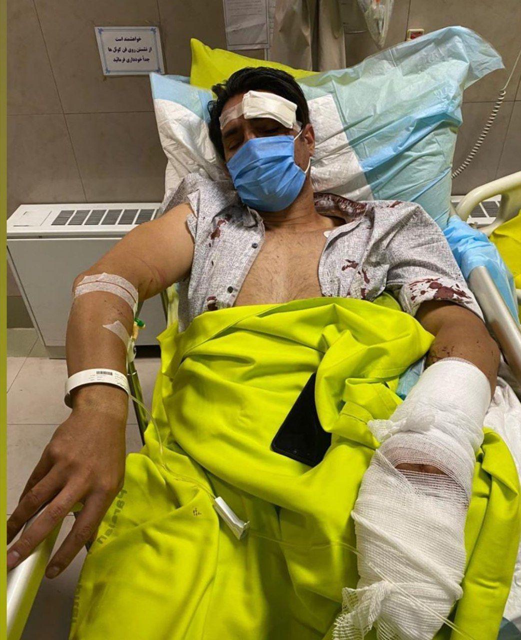 (عکس) تصادف مرگبار مدافع سابق استقلال