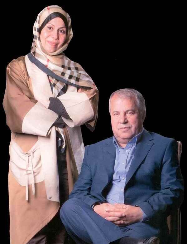 کار جالب همسر علی پروین برای عروس و دادمادها
