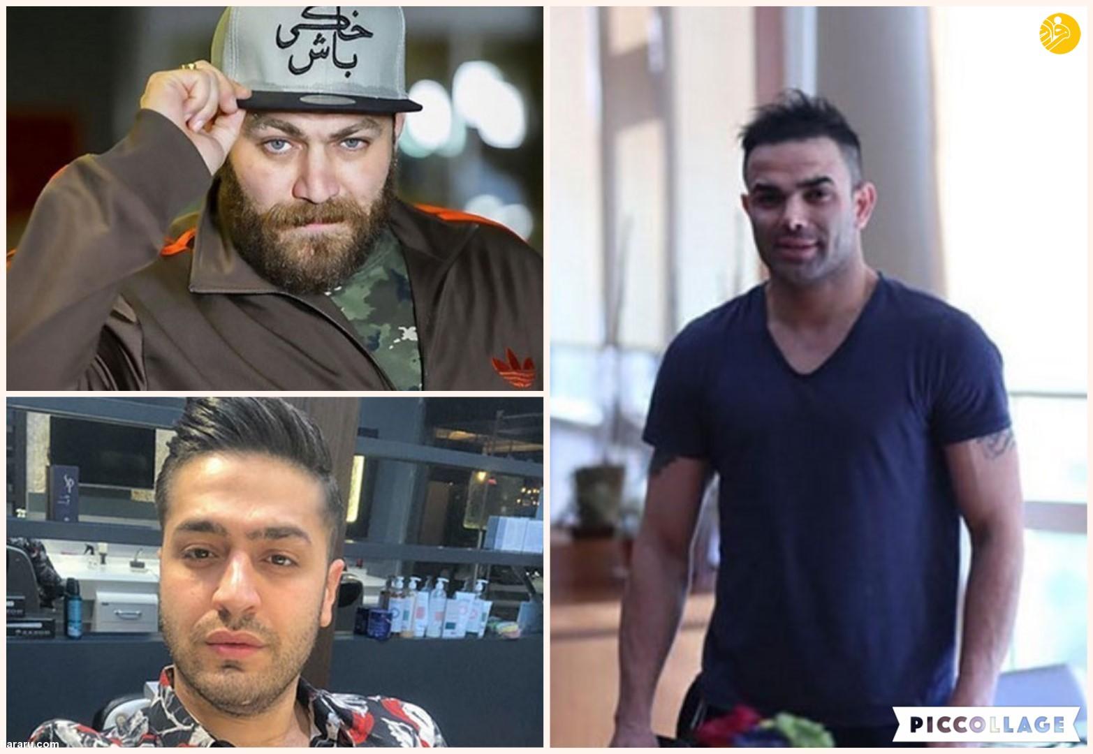(فیلم و عکس) سریال ترکیه ایِ ایرانی؛ دعوا و رابطه، پویان مختاری، نیلی افشار، ریحانه پارسا، مهراد جم و دنیا جهانبخت