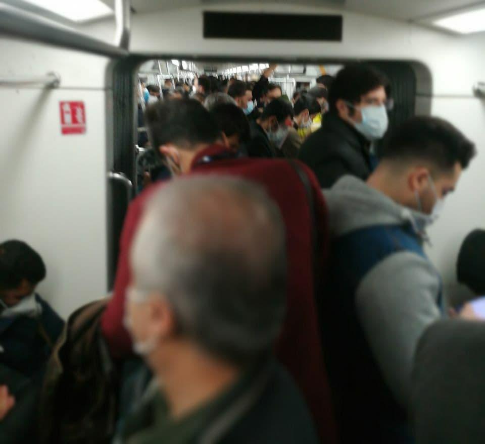 واکنش مترو تهران به تصاویر ازدحام جمعیت
