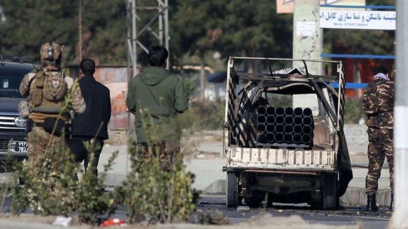 پرتاب 14 موشک به کابل / 3 نفر کشته و 11 نفر زخمی شدند