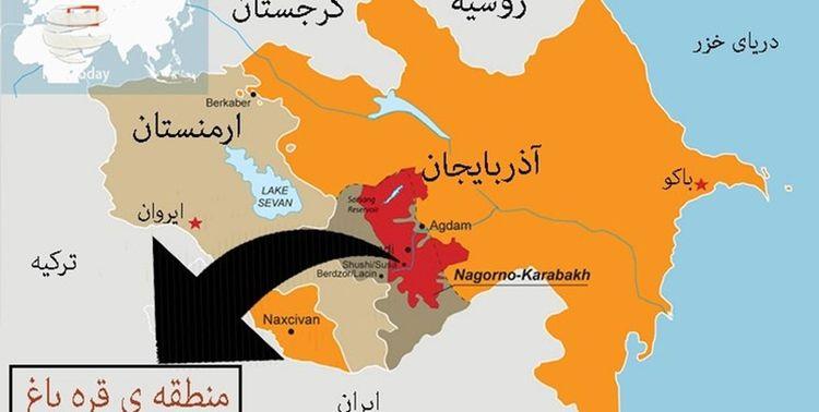 مرز ایران و ارمنستان از بین رفت؟