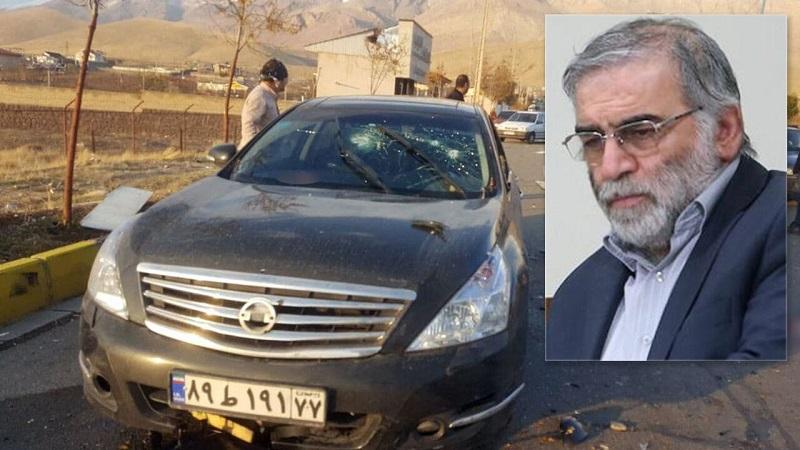 (فیلم و تصاویر) ترور محسن فخری زاده از دانشمندان هسته ای کشور در آبسرد دماوند +جزئیات