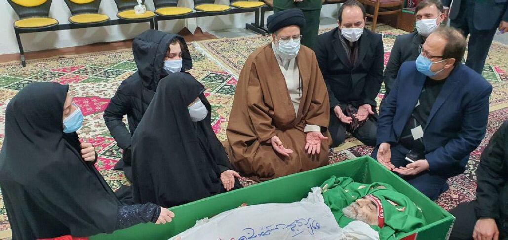 (تصویر) اولین تصویر از دانشمند هسته ای محسن فخری زاده پس از شهادت