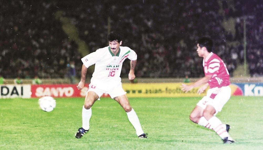 (عکس) علی دایی ۲۴ سال قبل