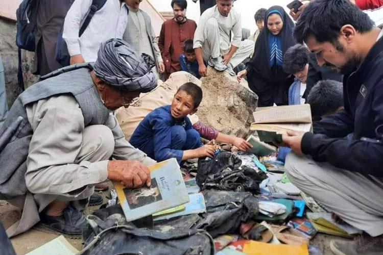 شمار قربانیان انفجار جلوی مدرسه دخترانه در کابل به ۵۰ نفر رسید