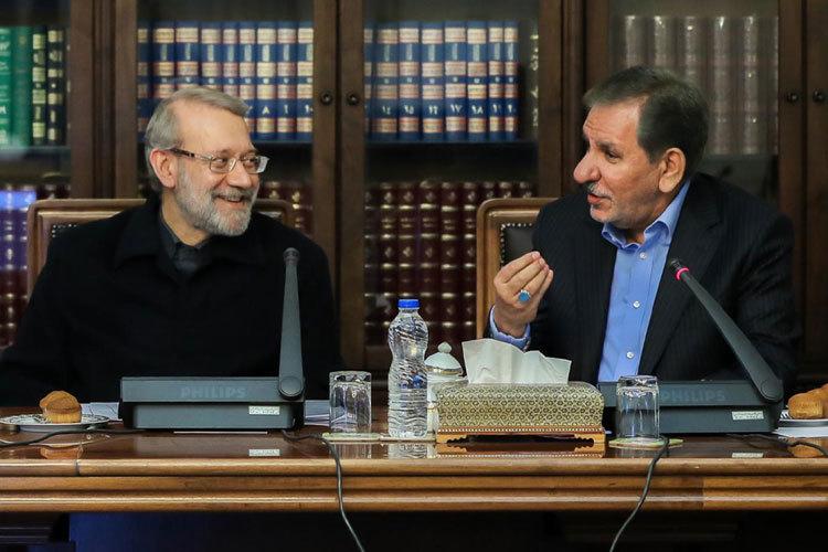 کاندیداتوری جهانگیری و لاریجانی قطعی شد