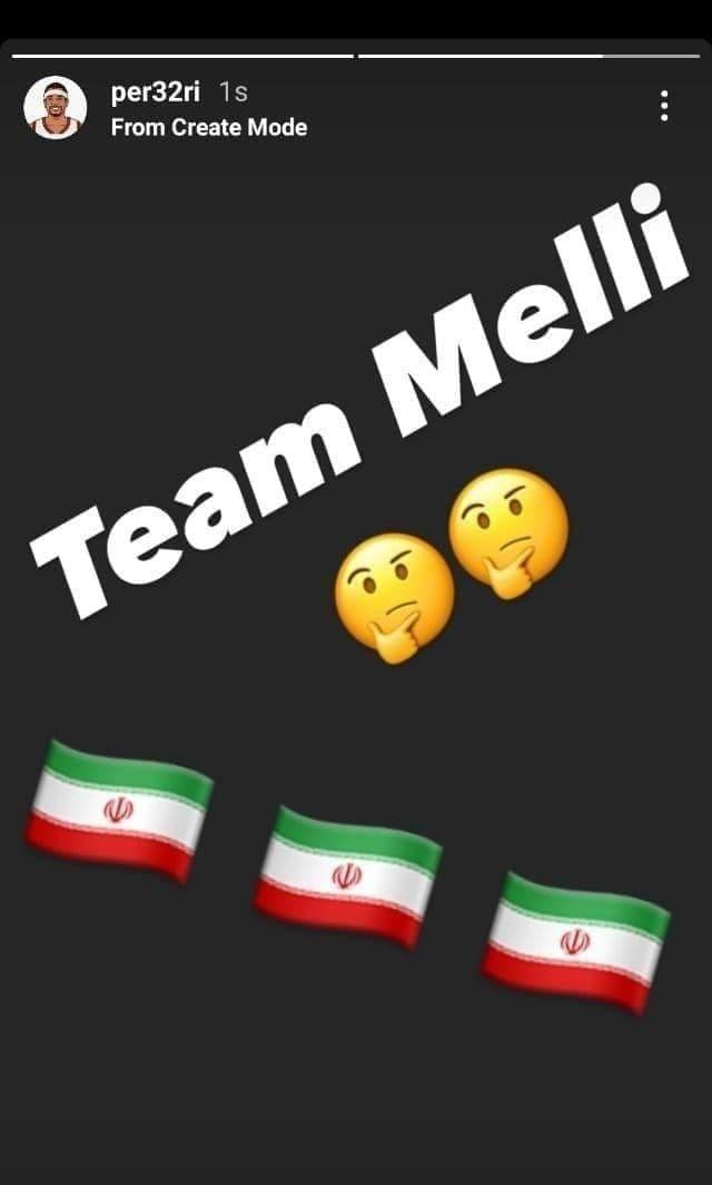 (عکس) یک بازیکن آمریکایی در تیم ملی ایران؟