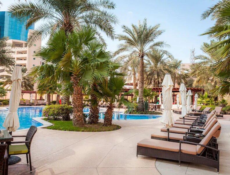 (تصاویر) هتل لوکس و جذاب تیم ملی در بحرین